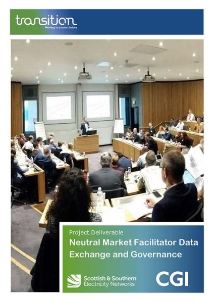 Neutral Market Facilitator Data Exchange and Governance