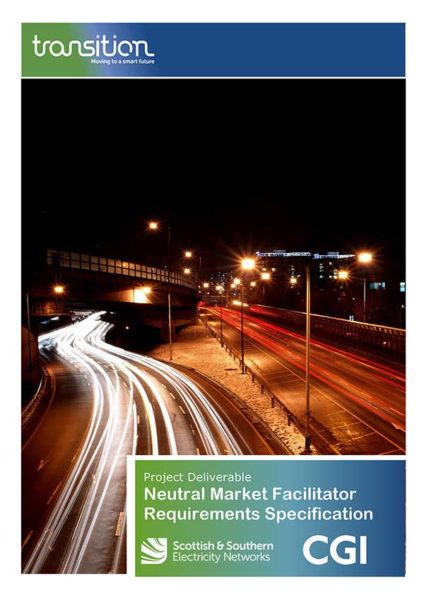 Neutral Market Facilitator Requirements Specification