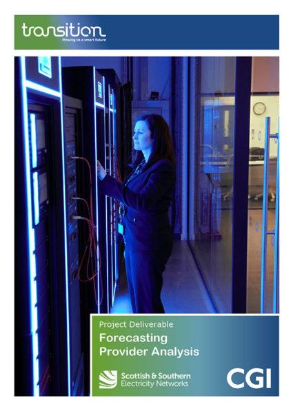 TRANSITION Forecasting Provider Analysis